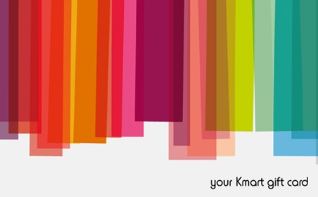 Kmart Colorful gift card